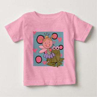 カエルの妖精ホツプのTシャツおよびギフトのために ベビーTシャツ