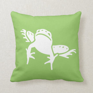 カエルの枕緑 クッション