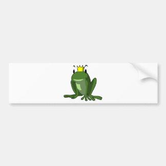 カエルの王子 バンパーステッカー