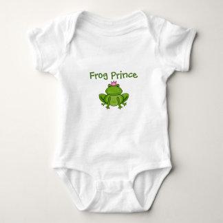 カエルの王子 ベビーボディスーツ