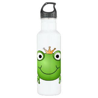 カエルの王子。 幸せなカエル ウォーターボトル
