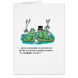 カエルの結婚式 カード