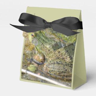カエルの誕生会のギフト用の箱 フェイバーボックス