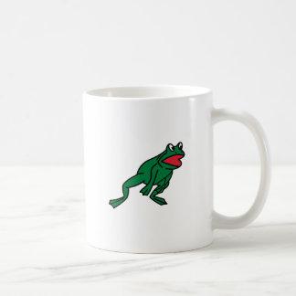 カエルの跳躍 コーヒーマグカップ