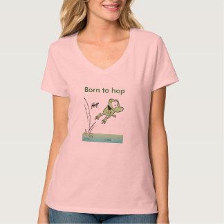 カエルの飛ぶために漫画生まれて下さい Tシャツ