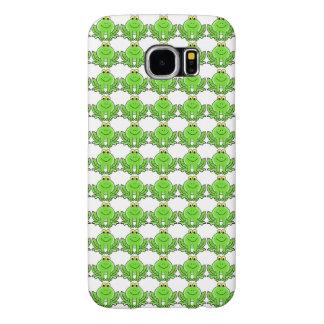 カエルのIPhoneにこやかなカバー Samsung Galaxy S6 ケース