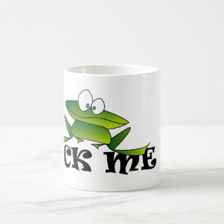 カエルは私を舐めます コーヒーマグカップ