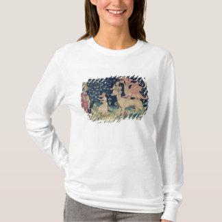 カエルを嘔吐するドラゴン Tシャツ