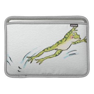 カエル2の跳躍 MacBook スリーブ