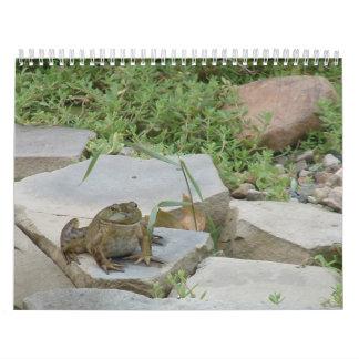 カエル カレンダー