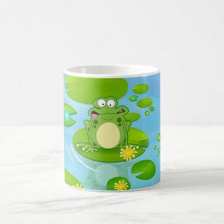 カエル コーヒーマグカップ