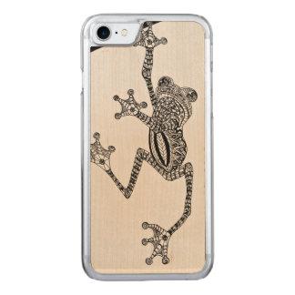 カエル CARVED iPhone 7 ケース