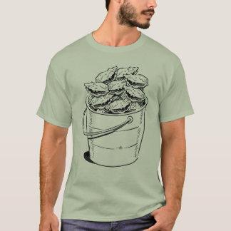 カキのバケツのティー Tシャツ