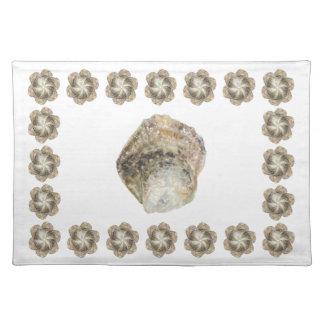 カキの綿のランチョンマット-デザインB ランチョンマット