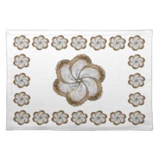 カキの綿のランチョンマット-デザインC ランチョンマット