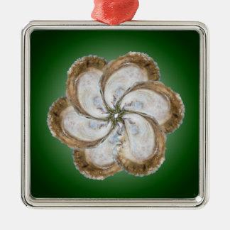 カキの花のオーナメント-デザインC メタルオーナメント