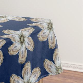 カキの花のテーブルクロス- Aの青を設計して下さい テーブルクロス