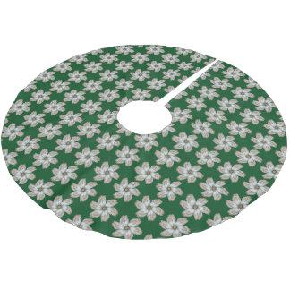 カキの花の木のスカート-小さいAを設計して下さい ブラッシュドポリエステルツリースカート