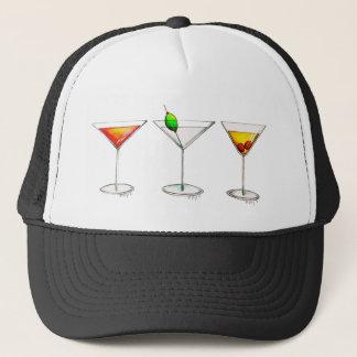 カクテルのカクテルのカクテルのマルティーニCosmoの帽子 キャップ