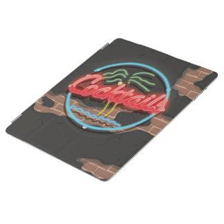 カクテルのナイトクラブのネオン iPadスマートカバー