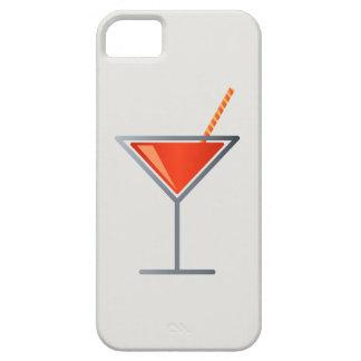カクテルのマルティーニ赤いガラス iPhone SE/5/5s ケース