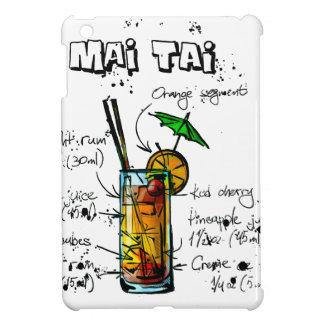 カクテルのレシピMai Tai iPad Miniケース