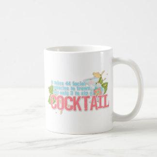 カクテルの引用文 コーヒーマグカップ
