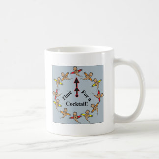 カクテルの時間! コーヒーマグカップ