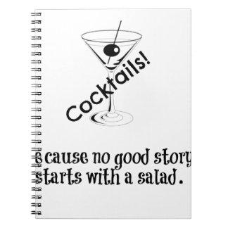 カクテルの物語 ノートブック