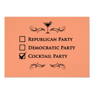 カクテルパーティーのようなパーティ無し! カード
