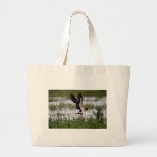 カササギのガチョウ田園クイーンズランドオーストラリア ラージトートバッグ