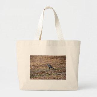カササギの田園オーストラリアの芸術の効果 ラージトートバッグ