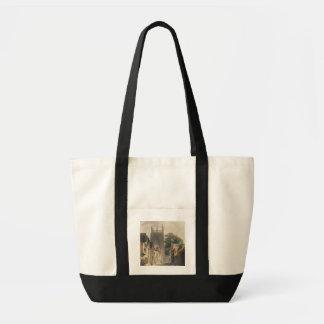 カササギの車線、オックスフォードの「Historからのイラストレーション トートバッグ