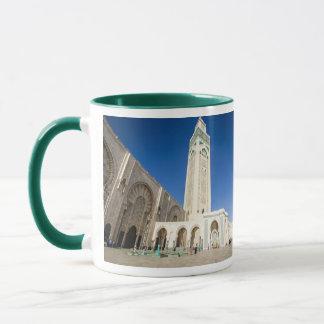 カサブランカモロッコのパノラマのマグ マグカップ