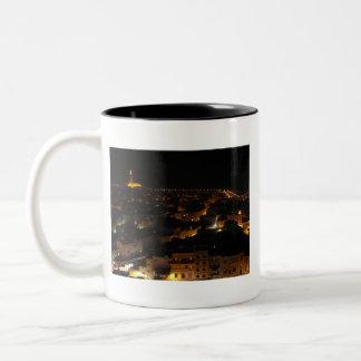カサブランカ、モロッコ ツートーンマグカップ
