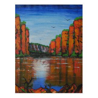 カサリンの峡谷 ポストカード
