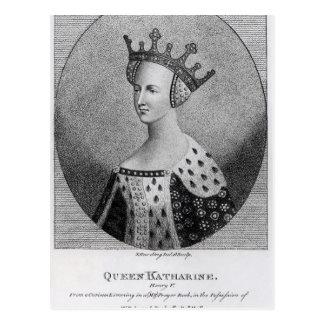 カサリン女王のパブ。 1792年に ポストカード