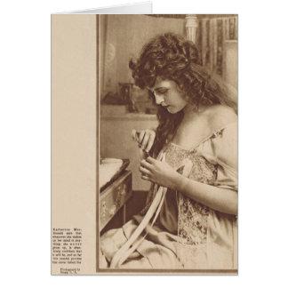 カサリンMacDonald 1919年 カード