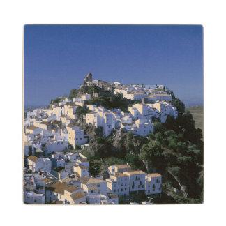 カサーレス、アンダルーシア、スペインの白い村 ウッドコースター