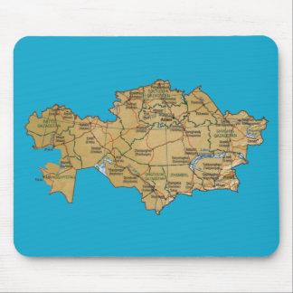 カザフスタンの地図のマウスパッド マウスパッド