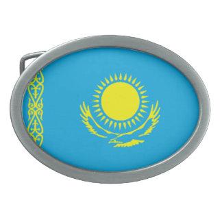 カザフスタンの旗のベルトの留め金 卵形バックル