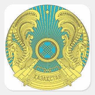 カザフスタンの紋章 スクエアシール
