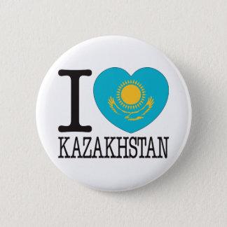 カザフスタン愛v2 5.7cm 丸型バッジ