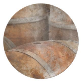 カシのワインバレル プレート