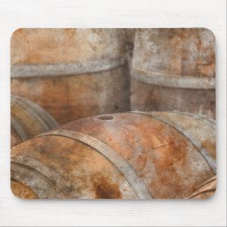 カシのワインバレル マウスパッド