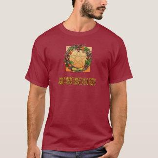 カシの手紙が付いているMabonのリース Tシャツ