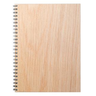 カシの材木の質 ノートブック