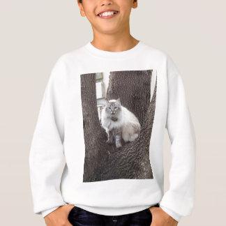 カシの猫 スウェットシャツ