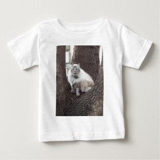 カシの猫 ベビーTシャツ