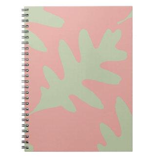カシの葉の緑 ノートブック